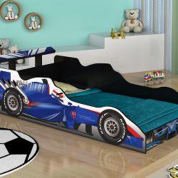 Cama Carro Infantil Fórmula 1 Azul