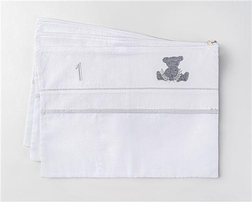 Envelopes Maternidade Urso Theodore 03 Peças