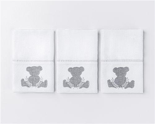 Fraldas de Boca Urso Theodore 03 Peças