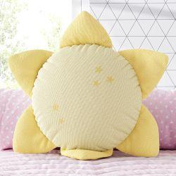 Almofada Sol Tricot Amarelo 30cm