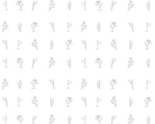 Papel de Parede Botanic Cinza