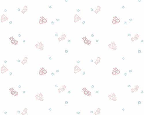 Papel de Parede Floralzinho Rosa Antigo com Água