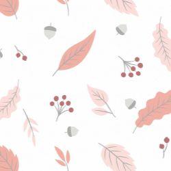Papel de Parede Outono Rosa