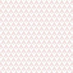 Papel de Parede Geométrico Rosa Antigo