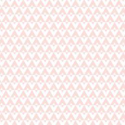 Papel de Parede Geométrico Rosa Ballet