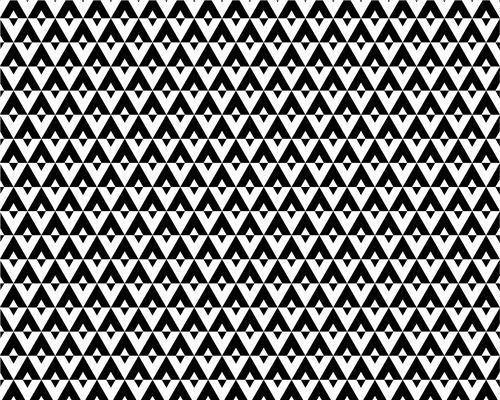Papel de Parede Geométrico Preto