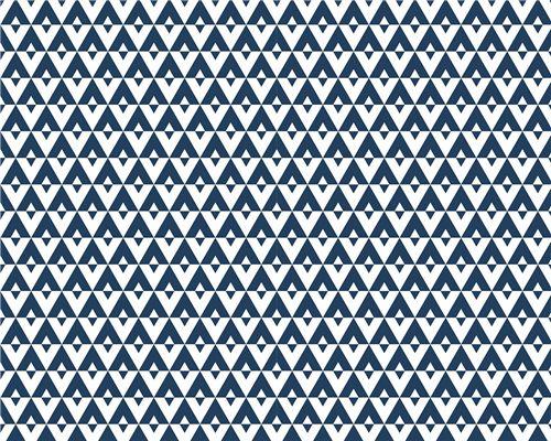 Papel de Parede Geométrico Marinho