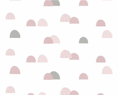 Papel de Parede Pedras Rosa Antigo