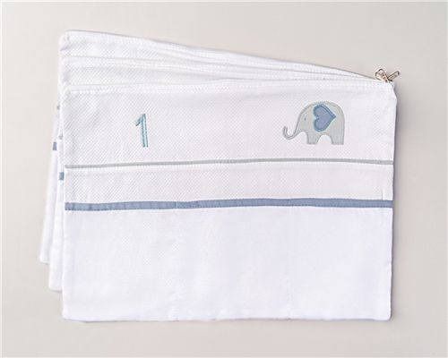 Envelopes Maternidade Elefantinho Azul 03 Peças