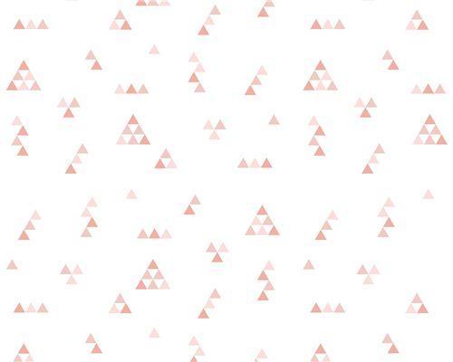 Papel de Parede Mini Triângulos Rosa