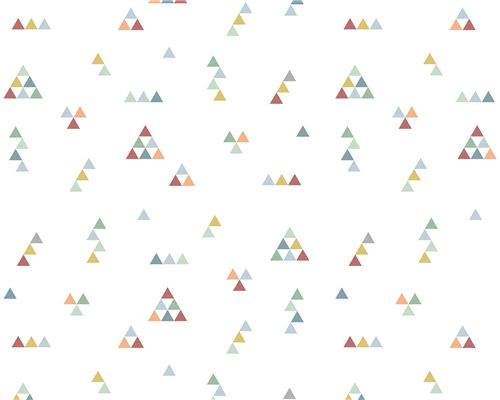 Papel de Parede Mini Triângulos Tons Modernos