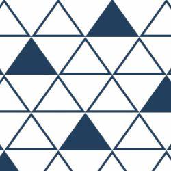 Papel de Parede Maxi Triângulos Marinho