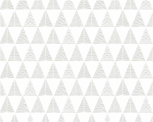 Papel de Parede Triângulos com Textura Cinza