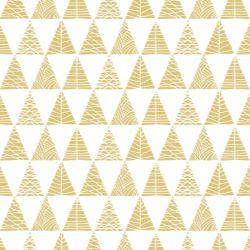 Papel de Parede Triângulos com Textura Açafrão