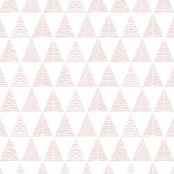 Papel de Parede Triângulos com Textura Rosa Antigo