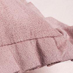 Almofada Quadrada Rosa Queimado