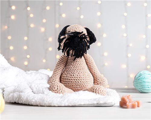 Cachorrinho Amigurumi Border Terrier