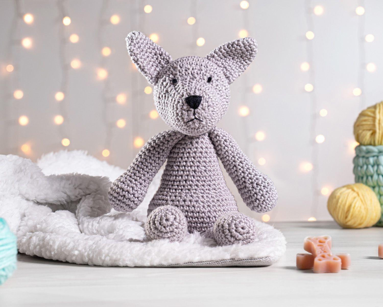 Crochet French Bulldog by CarrotTopsCharacters on Etsy | Háčkované ... | 1200x1500