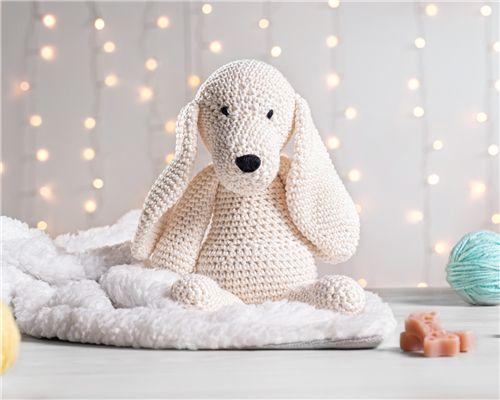 Cachorrinho Amigurumi Porcelaine