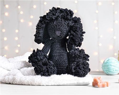 Cachorrinho Amigurumi Poodle