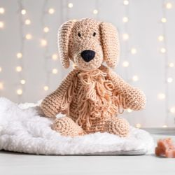 Cachorrinho Amigurumi Golden Retriever