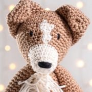 Cachorrinho Amigurumi Border Collie