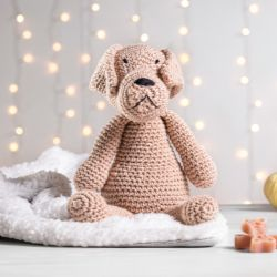 Cachorrinho Amigurumi Dogue de Bordeaux