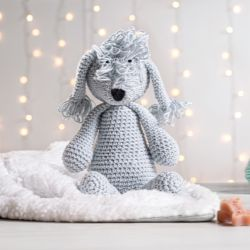 Cachorrinho Amigurumi Bedlington Terrier