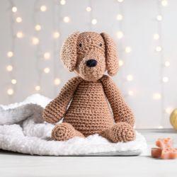 Cachorrinho Amigurumi Labrador