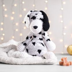 Cachorrinho Amigurumi Dálmata