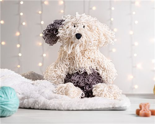 Cachorrinho Amigurumi Sheepdog