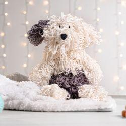 Cachorrinho Amigurumi Sheepdog