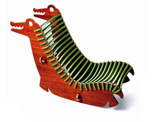 Cadeira Montessoriana Alli Verde