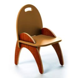 Cadeira Montessoriana Gloop Laranja