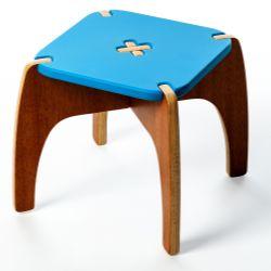 Banquinho Montessoriano Fun Azul