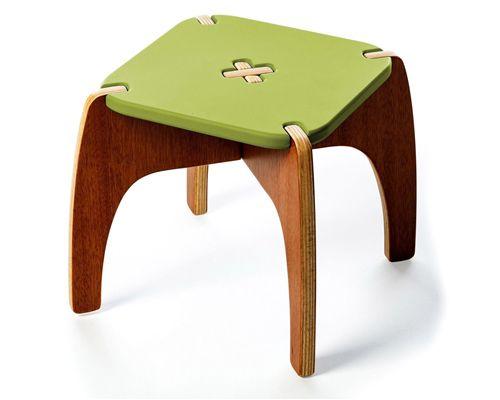 Banquinho Montessoriano Fun Verde
