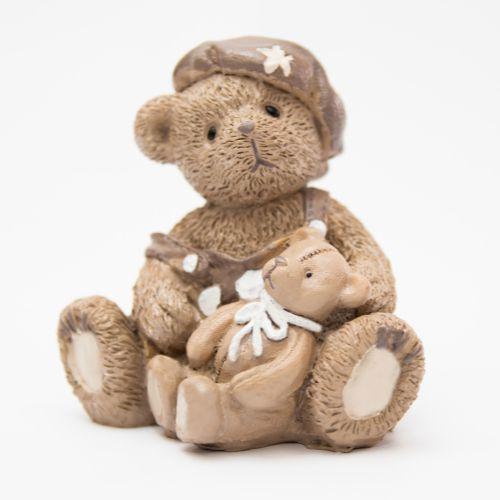Urso de Resina com Ursinho