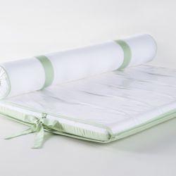 Trocador de Fraldas Naturale Branco e Verde