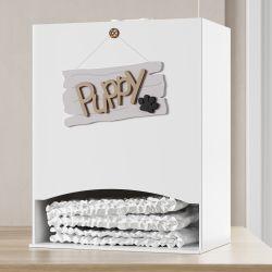 Porta Fraldas MDF Cachorrinho Puppy