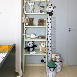 Adesivo de Parede Régua Infantil Girafinha 1,40M