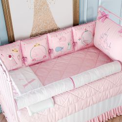 Kit Berço de Brincar Princesa Aurora