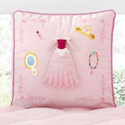 Almofada de Brincar com 03 Vestidos Princesa Aurora 30cm