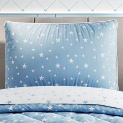 Capa de Travesseiro Infantil Estrelinha Azul