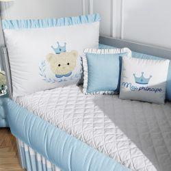 Kit Berço Príncipe Ursinho Azul