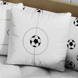 Almofada Quadrada Camisa 10 Bola de Futebol 35cm