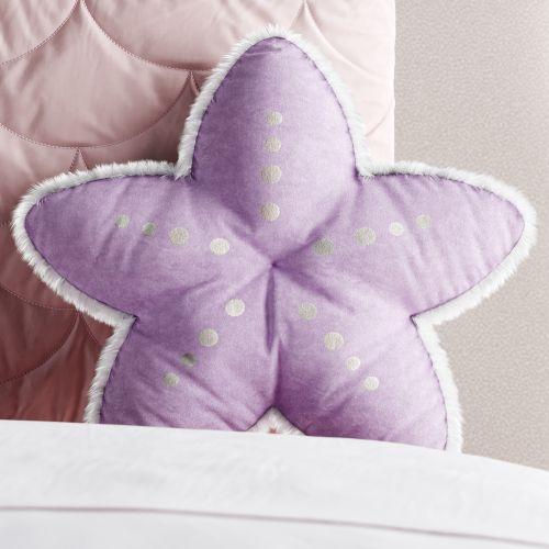 Almofada Estrela do Mar Lilás 30cm