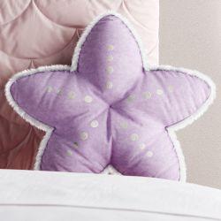Almofada Estrela do Mar Lilás