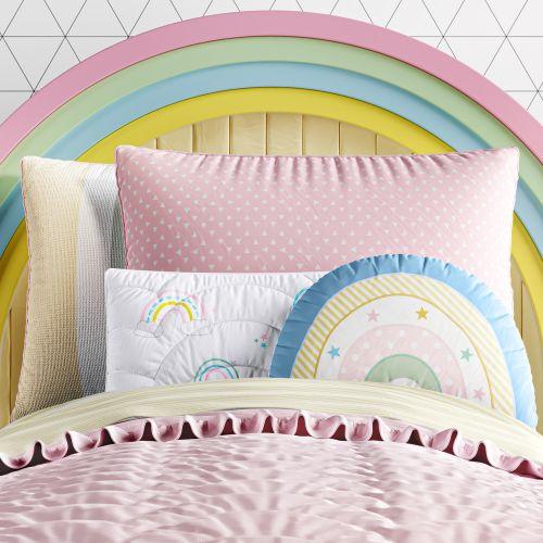 Kit Cama Infantil Solteiro Arco-íris