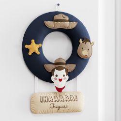 Porta Maternidade Toy Story Woody