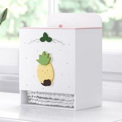 Porta Fraldas MDF Abacaxi Frutinhas
